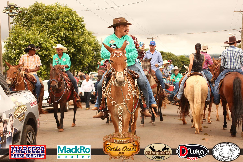 Cavalgada 18º Santo Inacio Rodeio Show